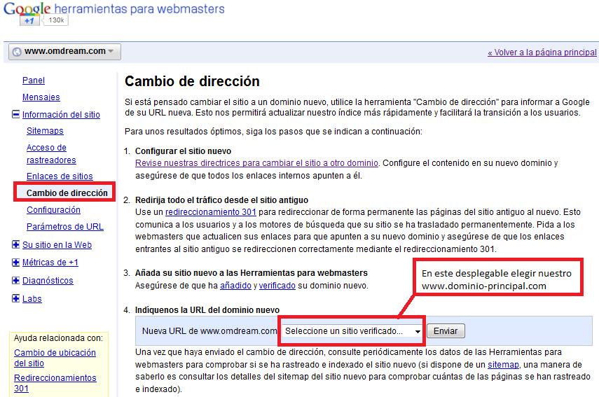 Redireccionar múltiples dominios a un dominio principal | Online ...