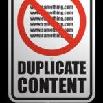 Cómo evitar contenido duplicado en Google